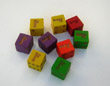 Bunco Logo Dice