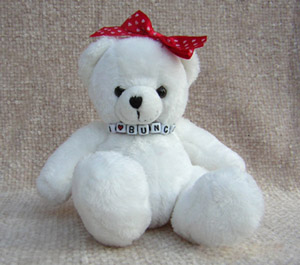 Party Bunco I Love Bunco Bear for your Bunco Night 010299B