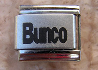 Bunco, Bunco Italian Charm, Bunco Party Gift,  Jewelry for the Party  Bunco Enthusiats, Jewelry, italian,
