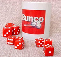 Bunco Coffee Mug, Coffee Mug,  Bunko Mug,Coffee Cup